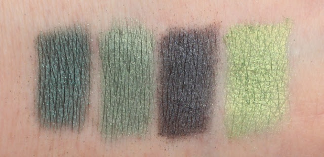 MeMeMe eye shadow swatches