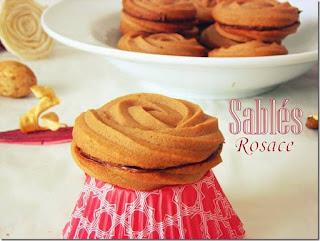 Recette des Sablés rosace au chocolat