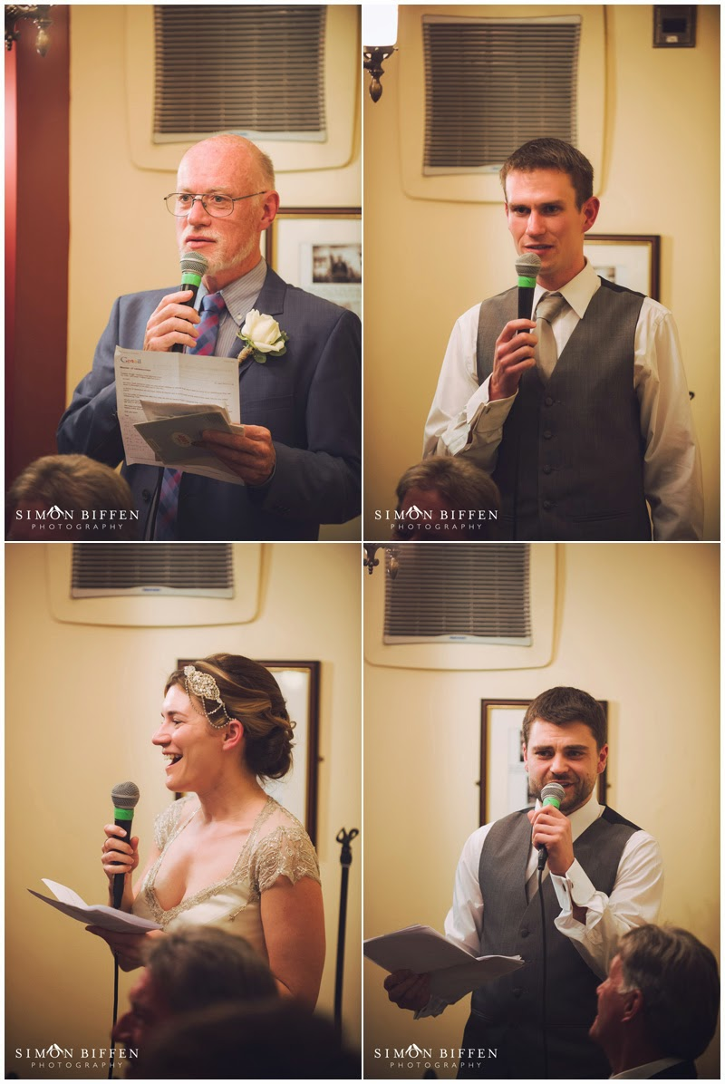 wedding speeches at true lovers knot pub