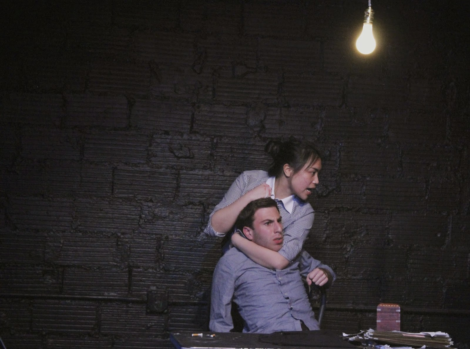 Me And Mike Dahlgren In The Pillowman, April 2012