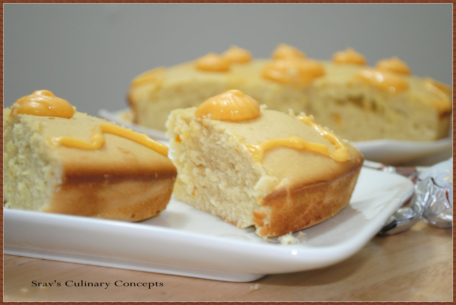 Srav's Culinary Concepts: Orange Pound Cake