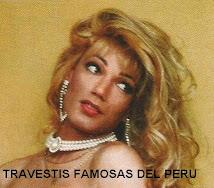 TRAVSTIS FAMOSAS PERUANAS