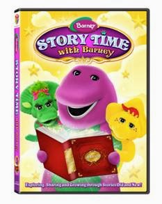 Enter to win the Barney: Story Time with Barney DVD. Ends 1/21/14.