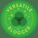 Premio: The Versatile Blogger