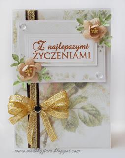 scrapbooking kartka urodzinowa imieninowa card making