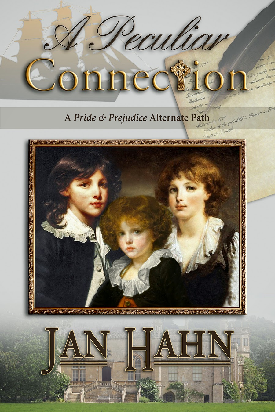 Book cover: A Peculiar Connection by Jan Hahn