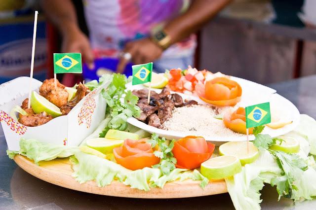 comida Dia de brasil en Barcelona