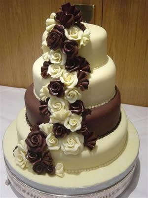 Beautiful Vanilla Cake Images : Chocolate Wedding Cake ~ Wedding Bells