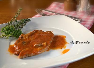 Bistecca di coppa di maiale alla pizzaiola ricetta di carne veloce