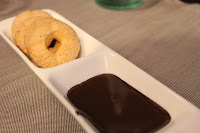 Anise cookies and chocolate at Roscioli, Rome, Italy