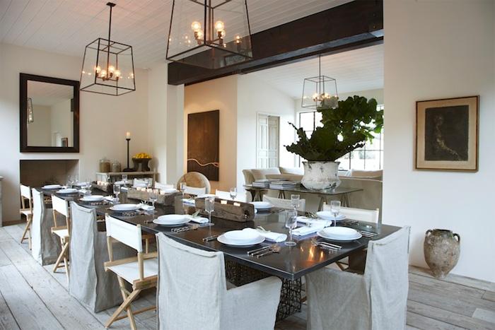 Rustik chateaux mesas de comedor cual elijo for Como decorar un living comedor rectangular grande