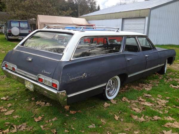 1967 Chevy Impala Wagon for Sale - Buy American Muscle Car