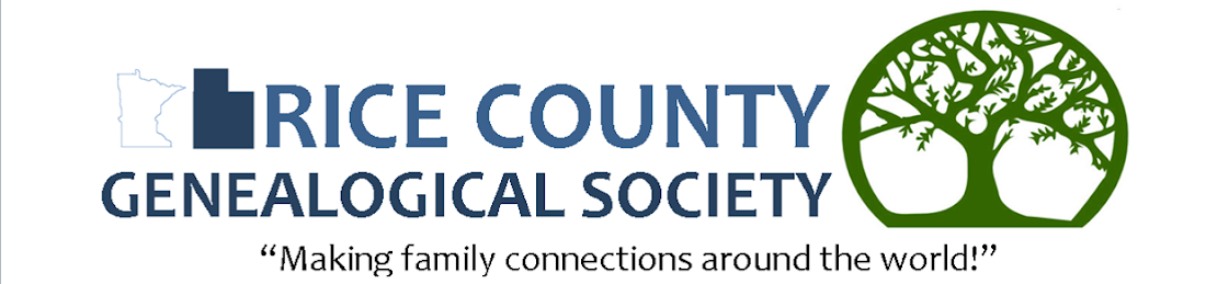 Rice County Geneological Society
