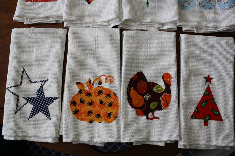 The Second Set Of Towels Features Fourth July Thanksgiving And Christmas I Have A Few Diffe Fabrics To Try Out On Every Holiday So