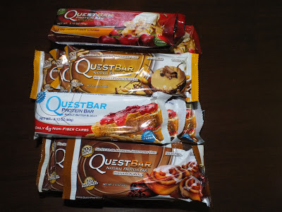 Quest Protein Bar Giveaway