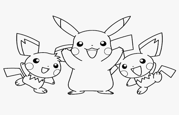 Coloring Pages Of Pokemon | Free Coloring Pages