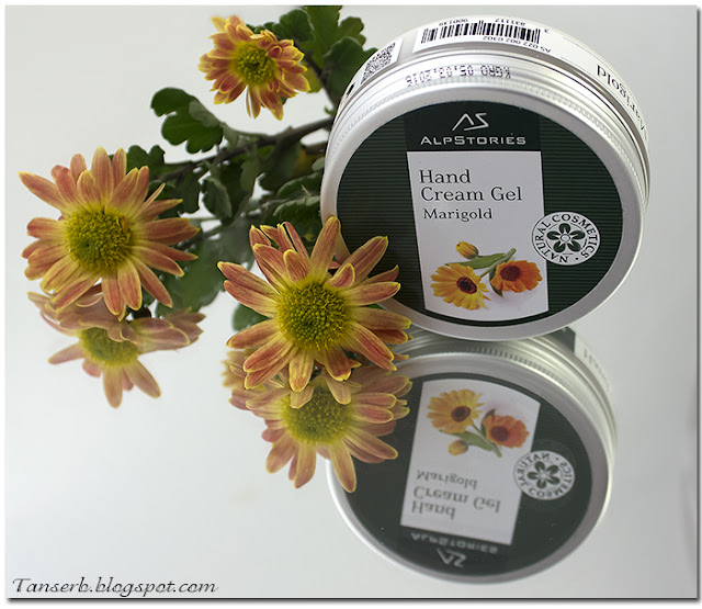 Гель-крем для рук Календула AlpStories Hand Cream Gel Marigold