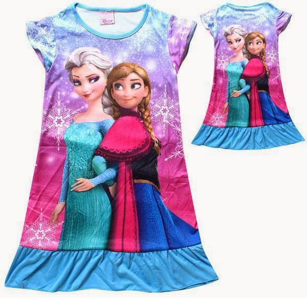 DISNEY FROZEN FOREVER DRESS