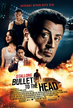 Bullet To The Head 2012 poster