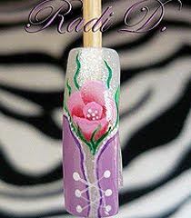 Урок по Nail Art Корсет и Цвете