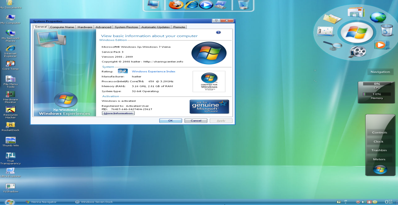internet information server windows xp: