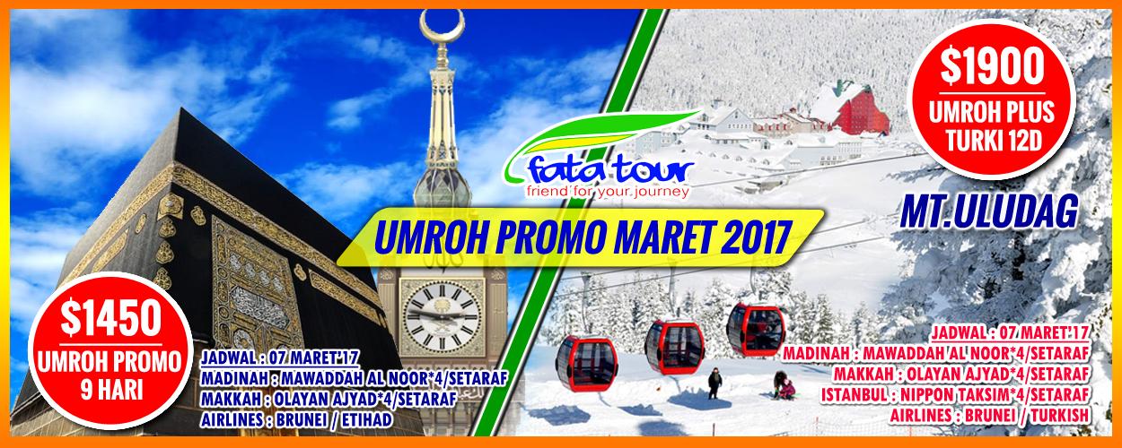 Spesialis Umroh Murah Promo 2017 Fatatour 081384211114