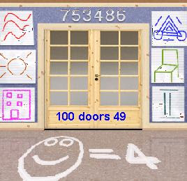 100 doors level 49 solution for 100 doors floor 49