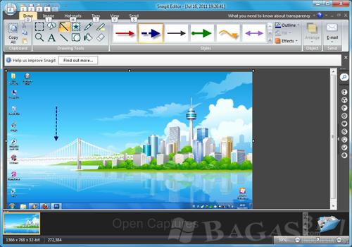 Techsmith Snagit 10.0.1 + Keygen - BAGAS31.com