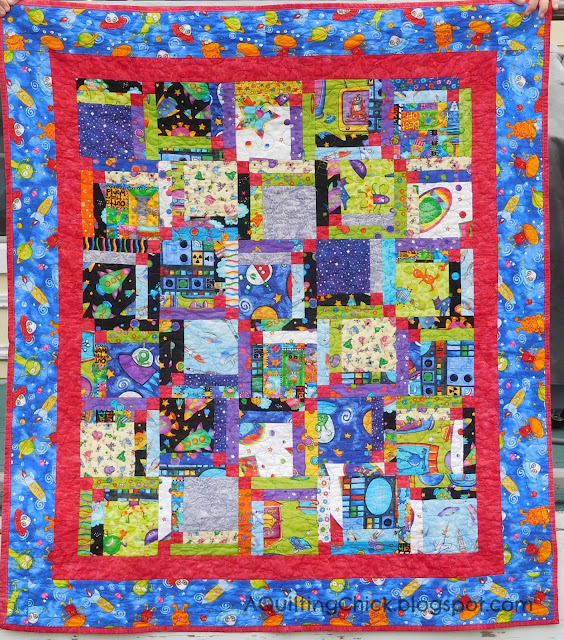 Mini Alien Quilt - Full