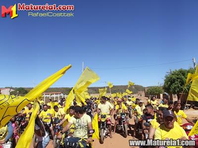 Passeata inauguração do comitê de Chico Mané e Bibi (PSD 55)