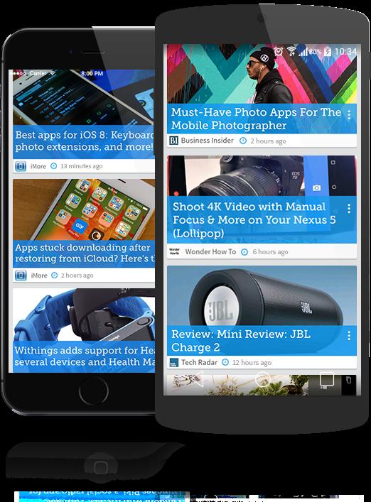 تطبيق مميز للحصول علي التحديثات والنصائح والأسرار أولاً بأول للأندرويد والأيفون Drippler APK-iOS 2.11.6
