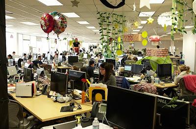 Fotos do escritório do Facebook 2