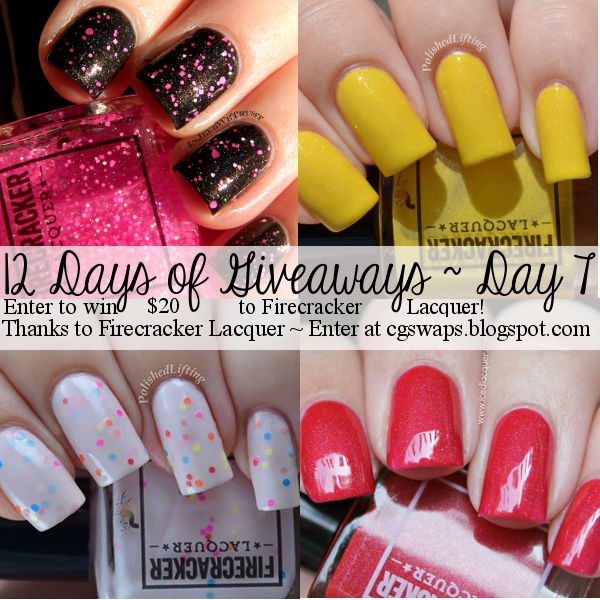 Day 7: $20 to Firecracker Lacquer