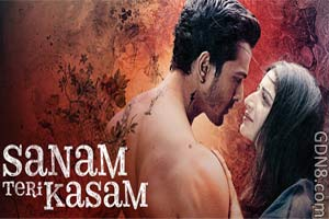 Sanam Teri Kasam Hindi Movie Poster