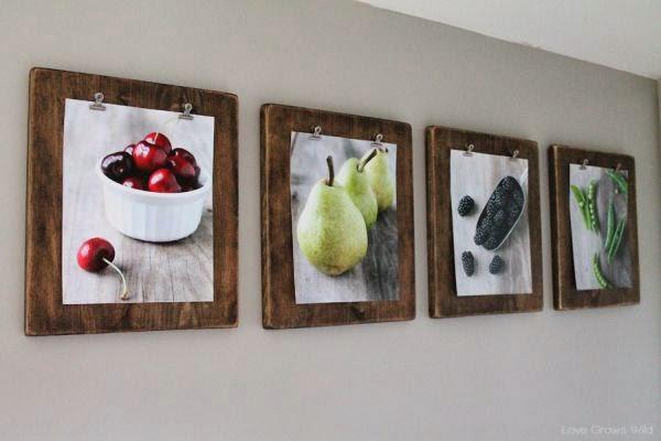 Картины на стену своими руками из подручных материалов 697
