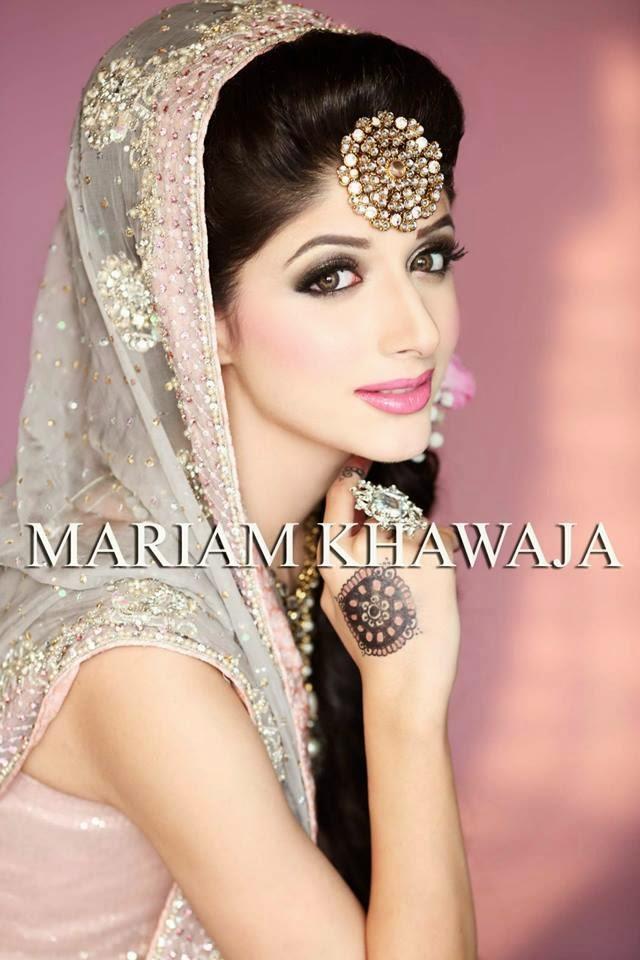 New Wedding Makeup : New Bridal Makeup Ideas By Mariam Khawaja From 2014-15 ...