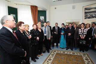 Гости на открытии зала памяти Туфана Миннуллина