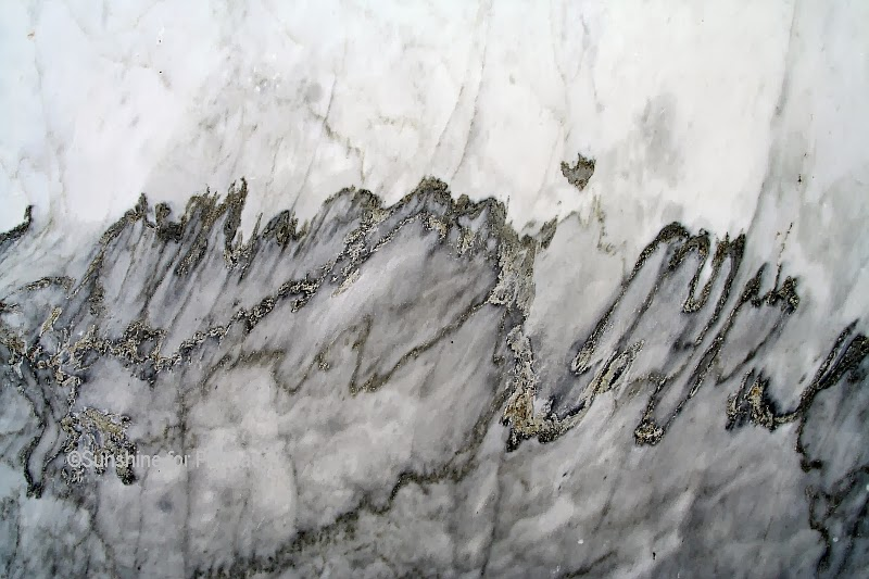 Carrara Marble Macro Photo