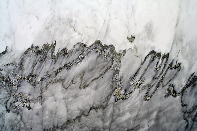 Carrara Marble Macro Photo