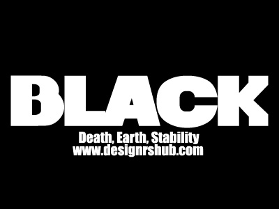 Black - Death, Earth, Stability