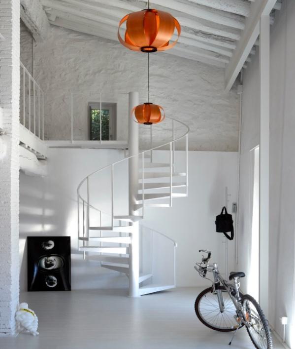 Una casa rustica con vocacion de loft a rustic hous - Casa diez recibidores ...