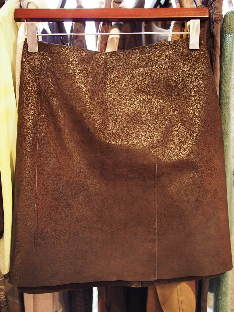 house of fraser leather skirt
