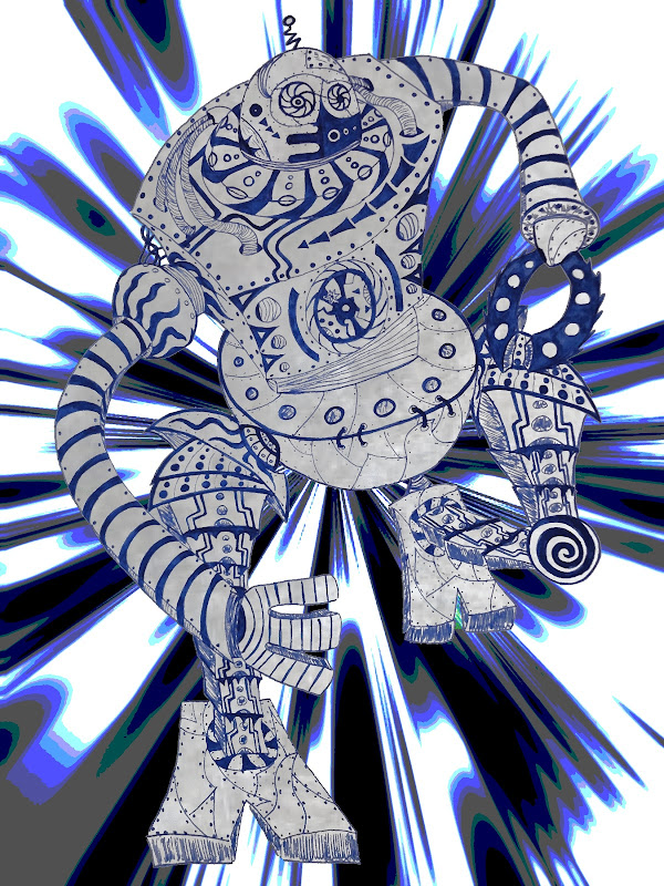 Robot qui court - deuxième version Robot+gris+qui+court+3