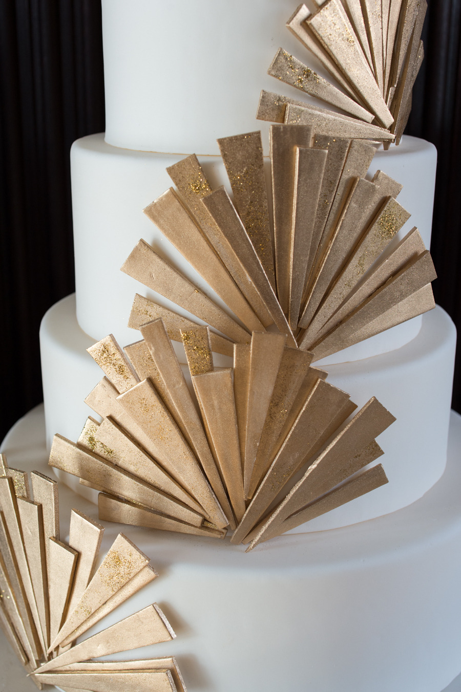 Art Deco Inspired Wedding Cake : For the Love of Cake! by Garry & Ana Parzych: Art-Deco ...