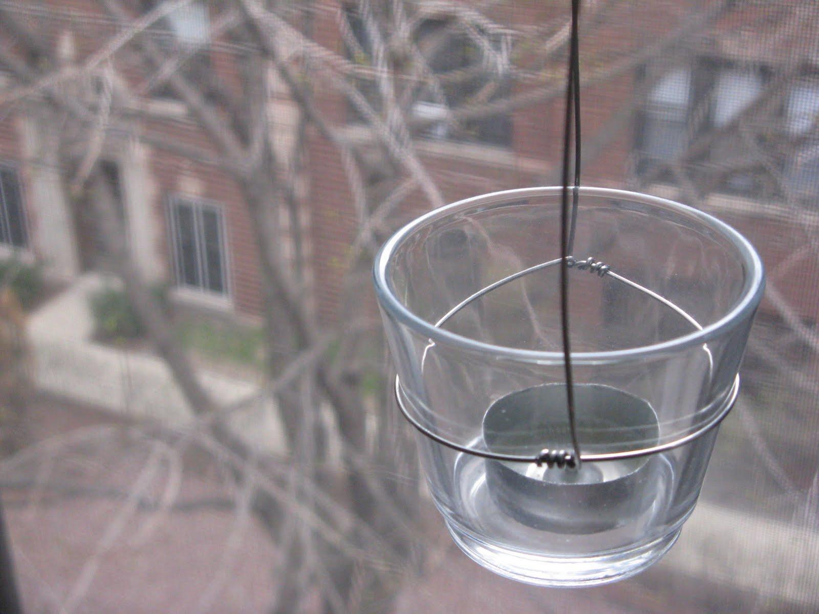 Live a Life Worth Writing Down: DIY Hanging Tea Light Holders