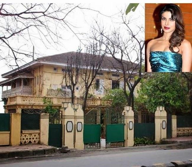 priyanka s 100 crore s bungalow in mumbai   nepal hit