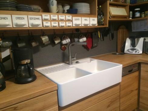 Fregadero ceramico tradicion 2 tu cocina y ba o for Fregaderos de porcelana para cocina