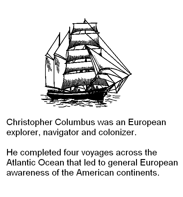 colonizers and explorers christopher columbus Christopher columbus believed that indians would serve as a slave labor force for europeans, especially on the sugar cane plantations off the western coast of north africa.