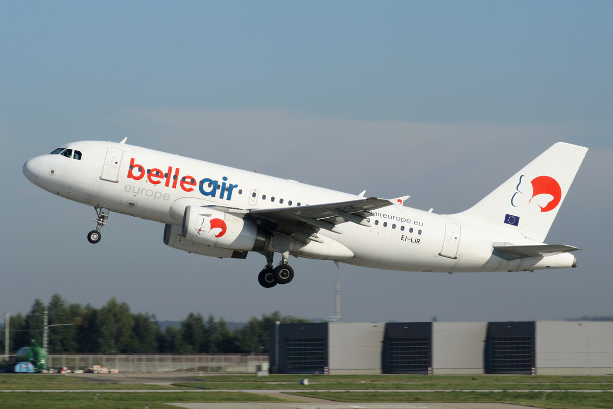 Airline Belle Air EuropeAid (Belle Air Europe) .2