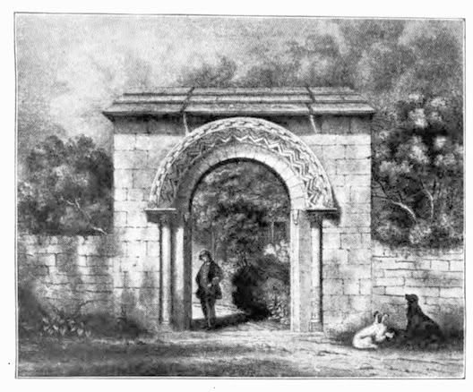 Queen Charlton Norman arch